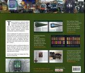 Métro - Rer - Une Histoire, Un Avenir - 4ème de couverture - Format classique