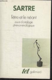 Collection Tel N°1. Letre Et Le Neant. - Couverture - Format classique