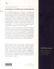 Le chavisme. un militarisme compassionnel - 4ème de couverture - Format classique