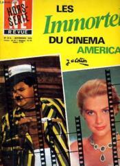 Cine Revue - Tele-Programmes - 56e Annee - N° 37a Hors-Serie - Les Immortels Du Cinema Americain. - Couverture - Format classique