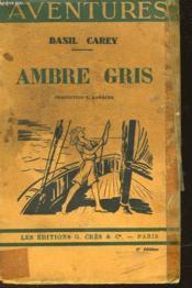 Ambre Gris - Couverture - Format classique