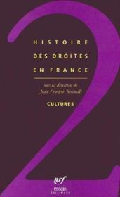 Histoire des droites en France t.2 - Couverture - Format classique