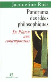 Panorama Des Idees Philosophiques - Couverture - Format classique