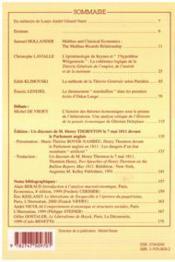 Cahiers d'économie politique N.38 - 4ème de couverture - Format classique