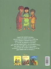 Le trio bonaventure t.3 ; l'enfant de sable - 4ème de couverture - Format classique