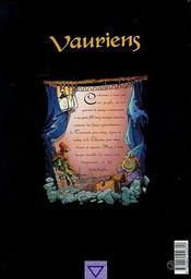 Vauriens t.1 ; Pop bras d'argile - 4ème de couverture - Format classique
