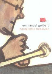 Monographie Prematuree. - Intérieur - Format classique