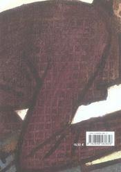 Monographie Prematuree. - 4ème de couverture - Format classique