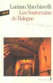 Souterrains De Bologne (Les) - Intérieur - Format classique