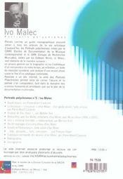 Portraits polychromes/ina n5 - 4ème de couverture - Format classique