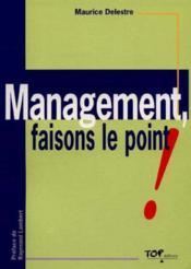 Management ; faisons le point - Couverture - Format classique