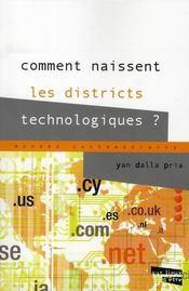 Comment naissent les districts technologiques ? - Intérieur - Format classique