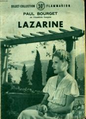 Lazarine. Collection : Select Collection N° 175 - Couverture - Format classique