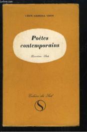 Poètes Contemporains. Deuxième série. - Couverture - Format classique