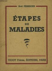 Etapes De Maladies - Couverture - Format classique