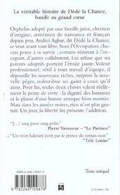 Le Prince Sans Etoile - 4ème de couverture - Format classique