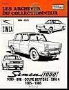 Simca 1000 Et 900 (1961/1978) N 35 - Couverture - Format classique