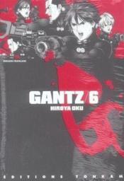 Gantz T.6 - Couverture - Format classique