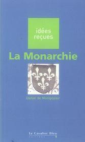 La monarchie - Intérieur - Format classique