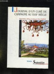 Journal D Un Cure De Campagne Au Xvii Eme Siecle - Couverture - Format classique