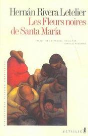 Les Fleurs Noires De Santa Maria - Intérieur - Format classique
