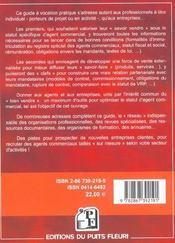 L'agent commercial. mode d'emploi (1re édition) - 4ème de couverture - Format classique