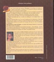 À la découverte de l'escargot ; recettes d'hier et d'aujourd'hui des grands chefs français - 4ème de couverture - Format classique