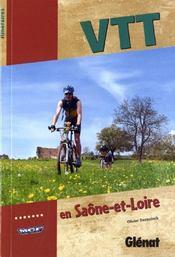 VTT en Saône-et-Loire - Couverture - Format classique