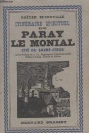 Itineraire Spirituel De Paray Le Monial. - Couverture - Format classique