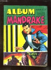 Album Mandrake N° 51. N° 419 - 420. - Couverture - Format classique