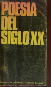 Poesia Del Siglo Xx, 1920-1945 - Couverture - Format classique