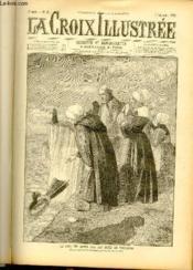 LA CROIX ILLUSTREE N° 45 - Deuxième année - Le jour des morts sur les côtes de Bretagne (dessin de Riou de Lagesse, gravure de Bauchart) - Couverture - Format classique