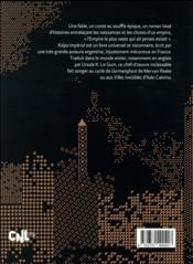 Kalpa impérial - 4ème de couverture - Format classique