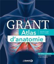 Grant ; atlas d'anatomie (14e édition) - Couverture - Format classique