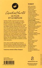 Le flux et le reflux - 4ème de couverture - Format classique