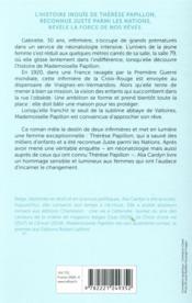 Mademoiselle Papillon - 4ème de couverture - Format classique