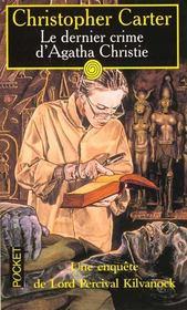 Dernier Crime D'Agatha Christie - Intérieur - Format classique