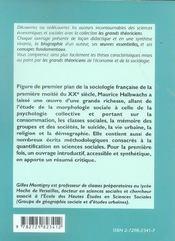 Maurice Halbwachs Vie Oeuvres Concepts - 4ème de couverture - Format classique