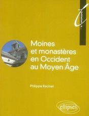 Initiation à moines et monastères en occident au Moyen Age - Intérieur - Format classique