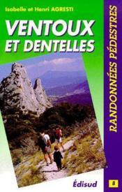 Ventoux et Dentelles - Couverture - Format classique