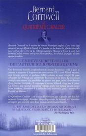 Le quatrième cavalier - 4ème de couverture - Format classique