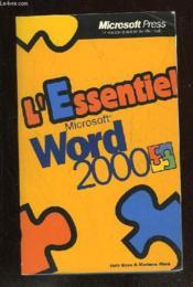 Word 2000 - Couverture - Format classique