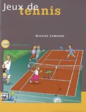 Jeux de tennis - Couverture - Format classique