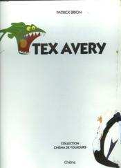 Tex avery - Couverture - Format classique