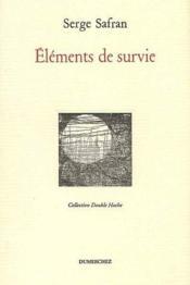 Éléments de survie - Couverture - Format classique