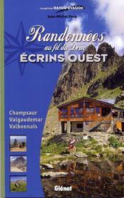 Randonnées au fil du Drac ; Ecrins ouest - Couverture - Format classique