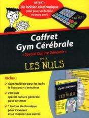 Coffret gym cérébrale pour les nuls ; spécial culture générale (2e édition) - Couverture - Format classique