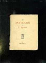 Le Satyricon De T Petrone. - Couverture - Format classique