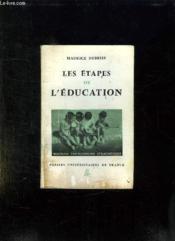 LES ETAPES DE L EDUCATION. 6em EDITION. - Couverture - Format classique