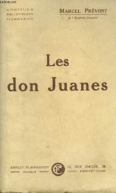 Les Don Juanes. - Couverture - Format classique